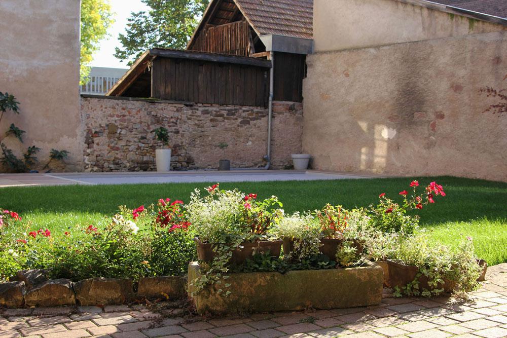 Jardin la Rose d'Alsace